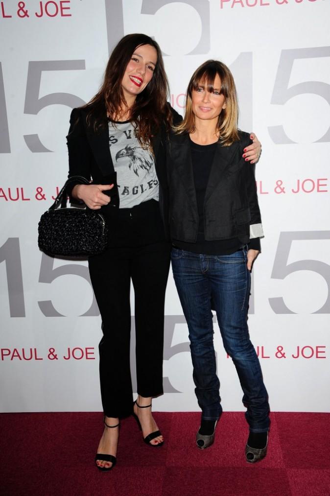 Zoe Félix et Axelle Laffont à la soirée des 15 ans de Paul & Joe