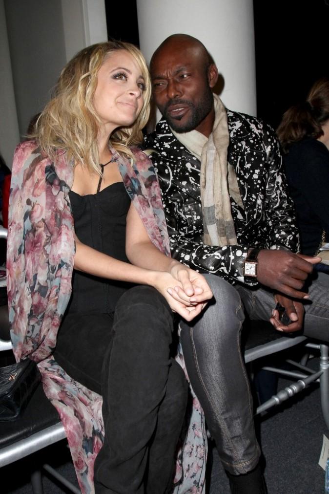Nicole Richie et Jimmy Jean-Louis chez Jean Paul Gaultier
