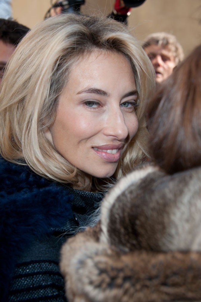 Fashion Week Paris : Alexandra Golovanoff avant le défilé Dior
