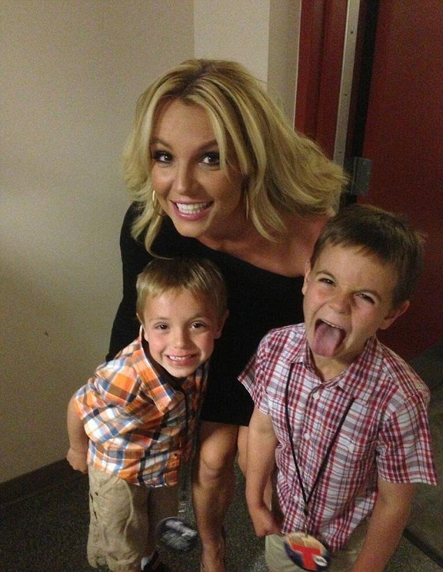 Britney Spears et ses garçons