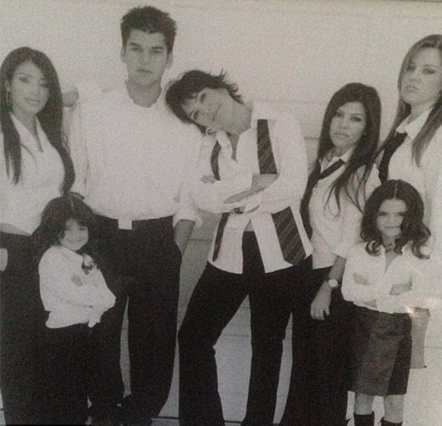 Kris Jenner et ses enfants