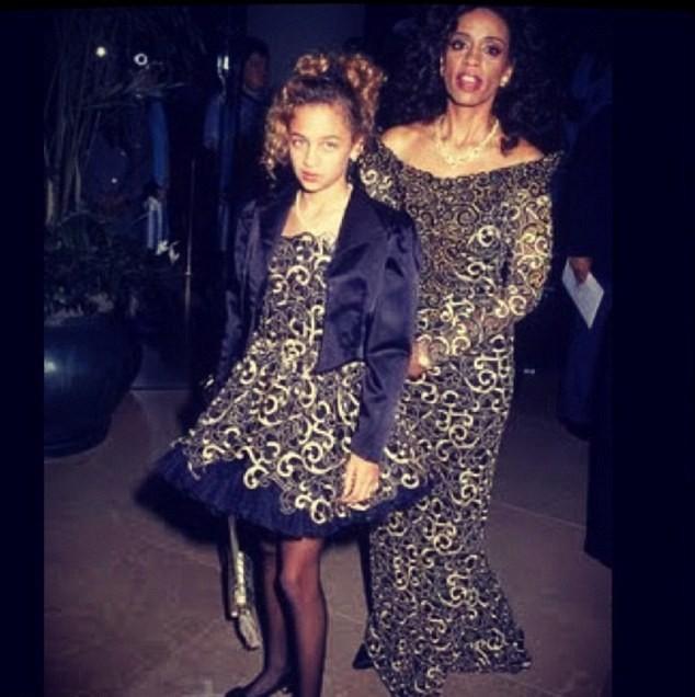 Nicole Richie et sa mère
