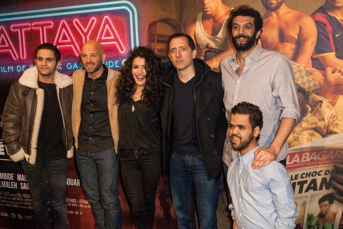 Les acteurs du film Pattaya, complices à la première du film