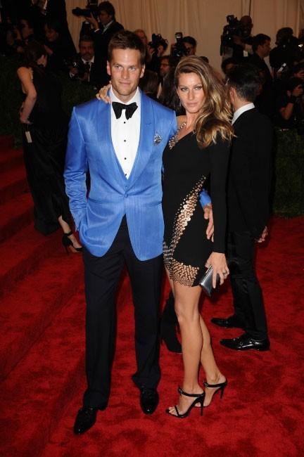 Gisele Bündchen et son mari Tom Brady au MET Ball