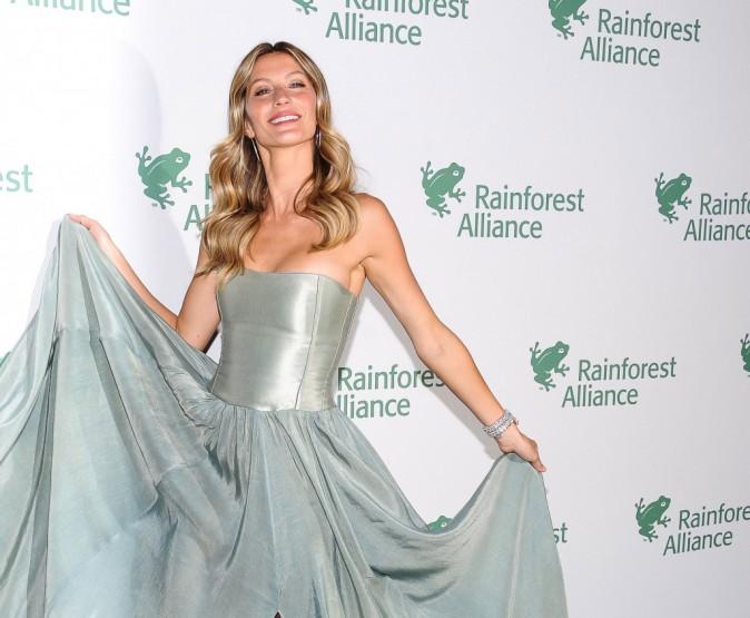 Gisele Bündchen milite en beauté pour l'environnement !