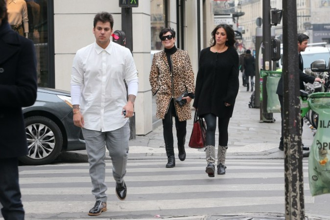 Rob Kardashian à Paris avec sa nouvelle girlfriend