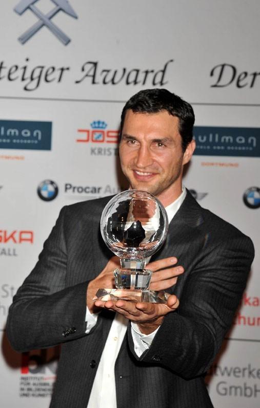 Waldimir Klitschko à Bochum en Allemagne, le 12 mars 2011.