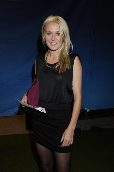 Helena lors des Swedish sports awards