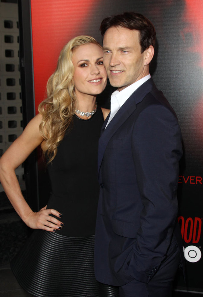 Anna Paquin et Stephen Moyer (True Blood)