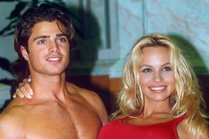 David Charvet et Pamela Anderson (Alerte à Malibu)