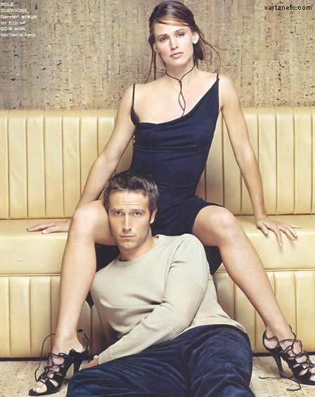 Jennifer Garner et Michaël Vartan (Alias)