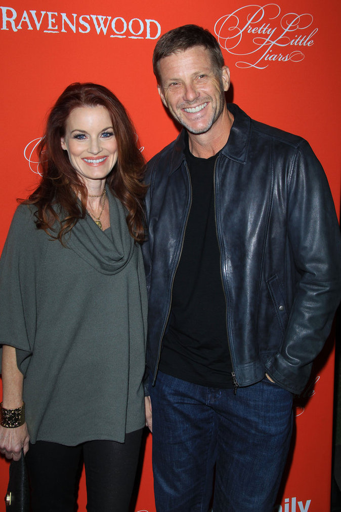 Laura Leighton et Doug Savant (Melrose Place)