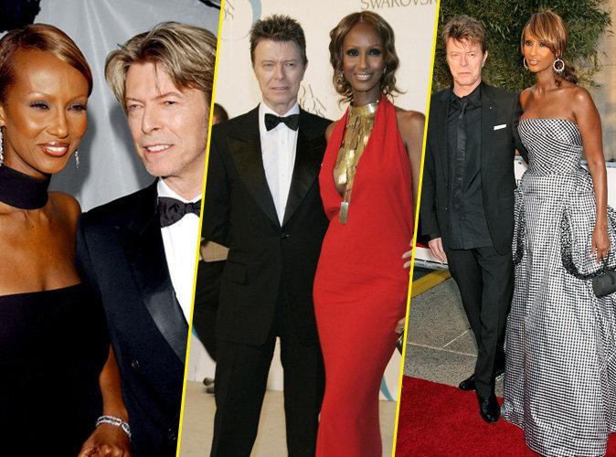 Iman et David Bowie : retour sur 25 ans d'amour