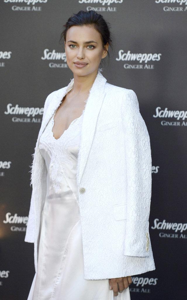 Irina Shayk a beaucoup de style