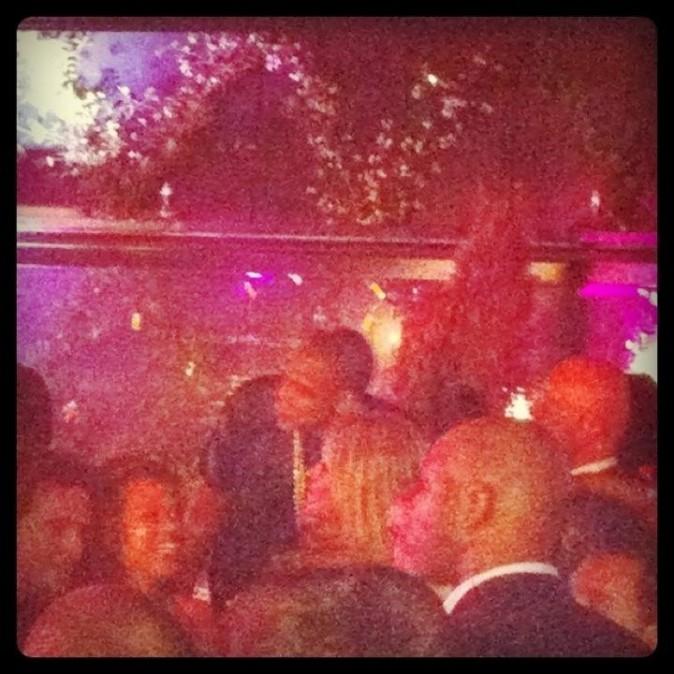 Jay-Z et Beyonce à L'Arc, le 2 juin 2012.