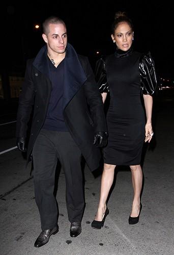 Jennifer Lopez et Casper Smart le 17 janvier 2013