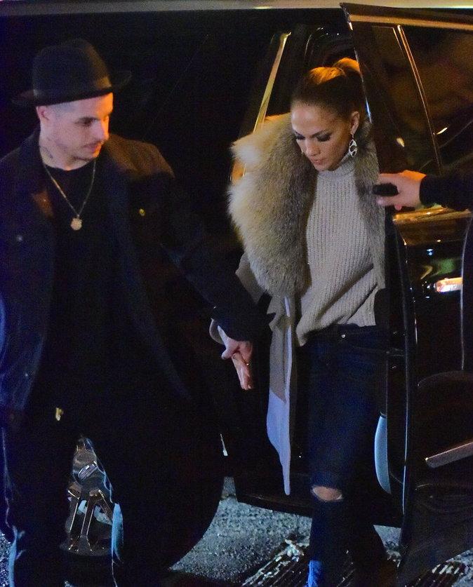 Jennifer Lopez et Casper Smart, stylés pour leur rendez-vous
