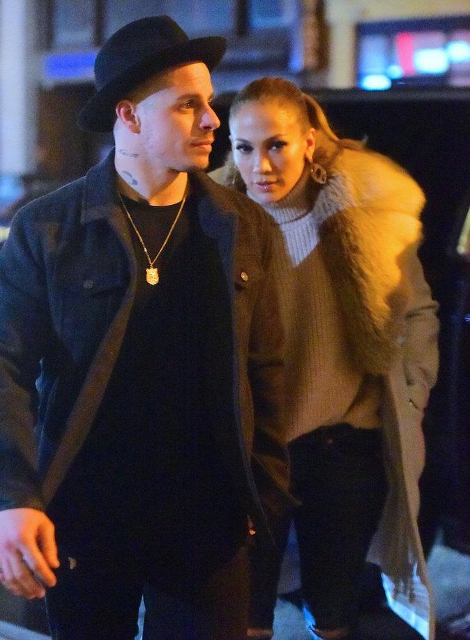 Jennifer Lopez et Casper Smart, toujours aussi complices