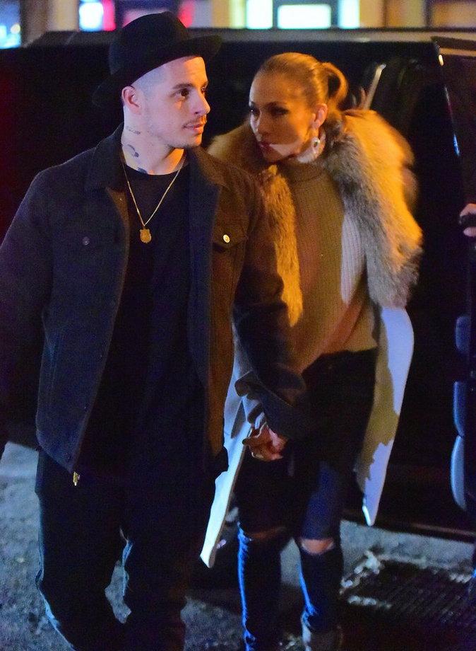 Jennifer Lopez et Casper Smart , un couple qui a fait face aux rumeurs