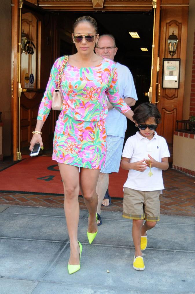 Jennifer Lopez : Son fils fait tout comme maman !
