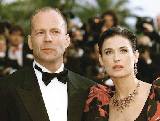 C. Bruce Willis & Demi Moore