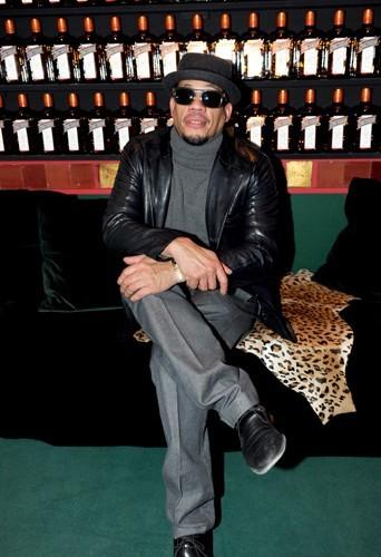 Joey Starr à la soirée d'ouverture du Cointreau Privé