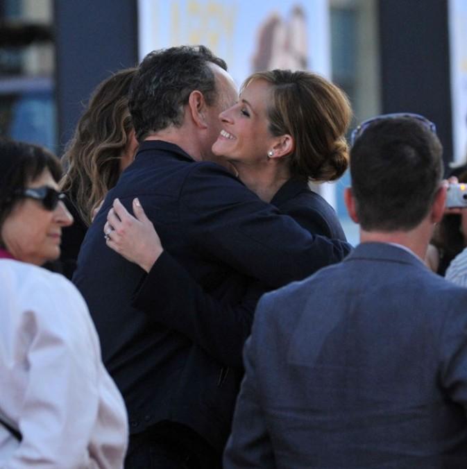 Très proche de Tom Hanks !