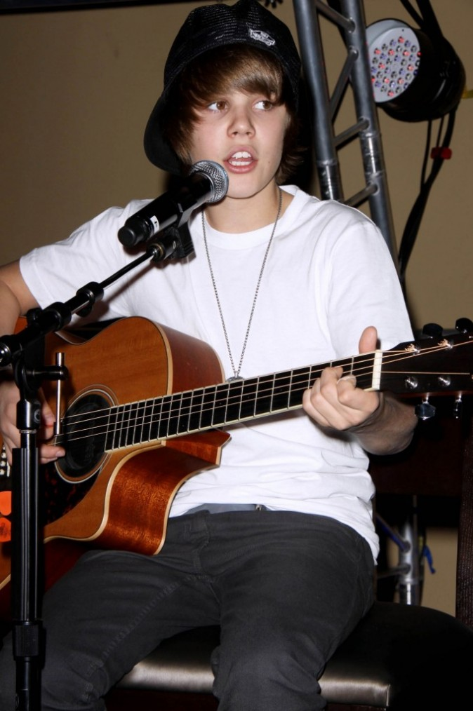 Justin Bieber à ses débuts !