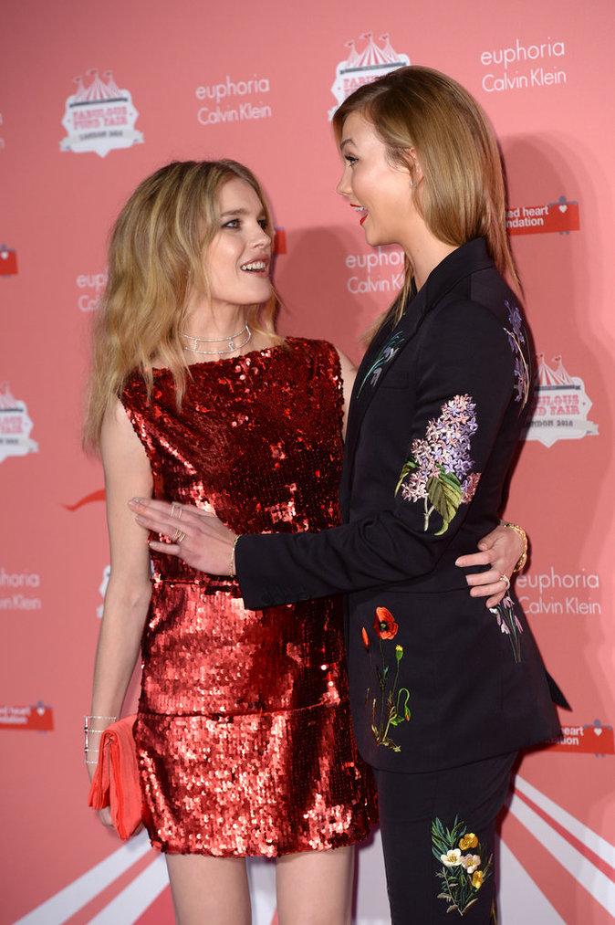 Karlie Kloss et Natalie Vodianova, plus belles que jamais à la soirée Fabulous Fund Fair