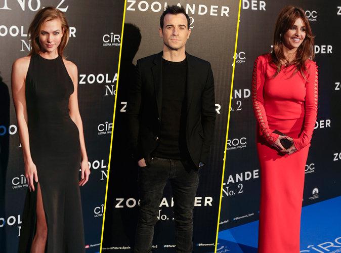 Les stars font sensation à la première de Zoolander 2