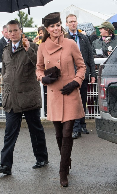 Kate Middleton le 16 mars 2013