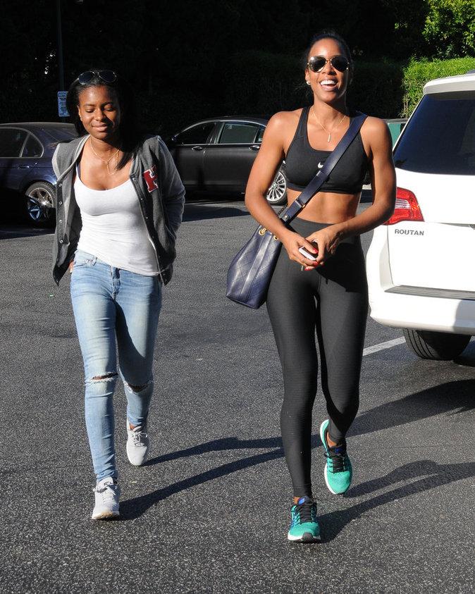 Kelly Rowland : sportive, elle dévoile son corps de rêve !
