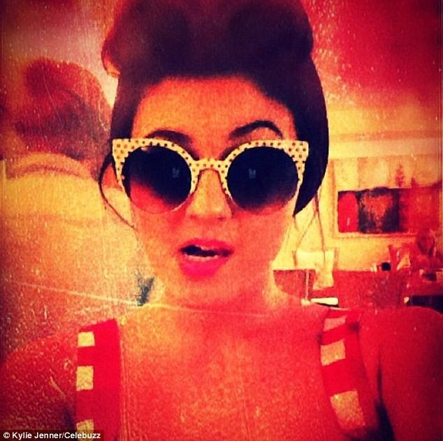 Kendall, pin-up des années 2012