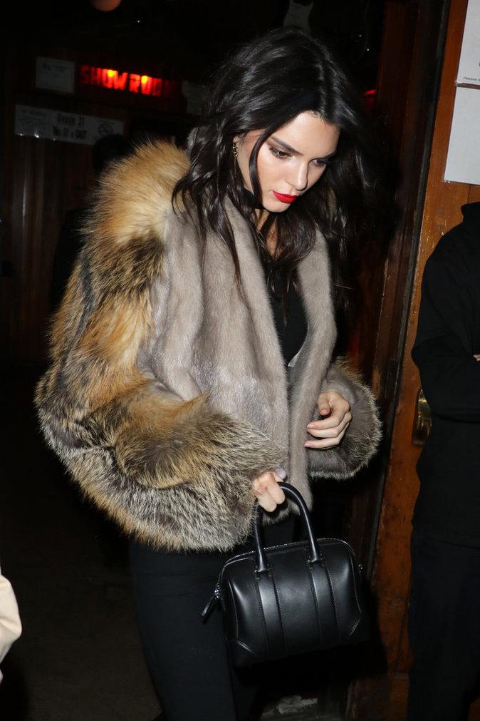 Kendall quitte la soirée