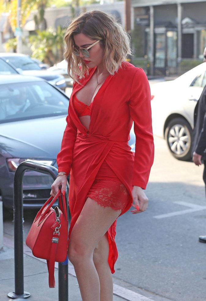 news photos khloe kardashian petit tristan thompson plein doute