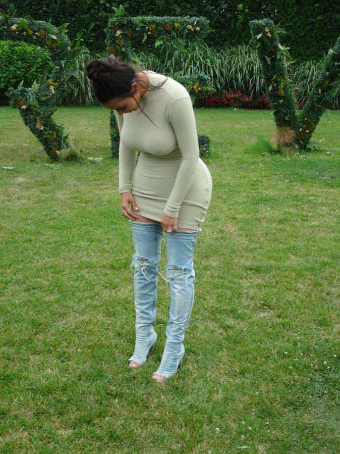 Elle aussi avait un jean...