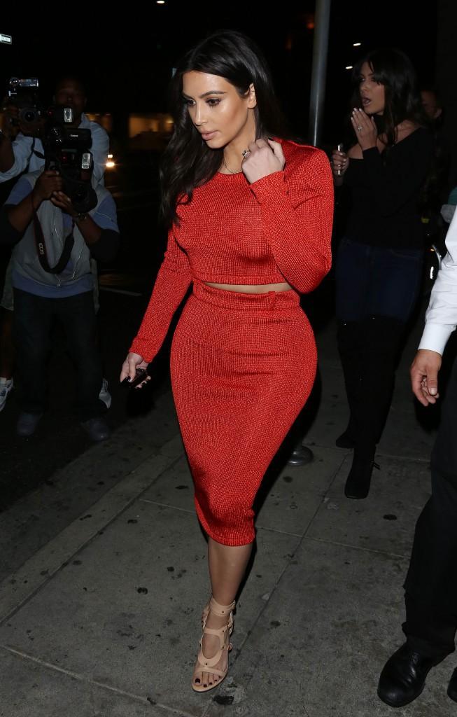 Kim Kardashian en mars 2013.