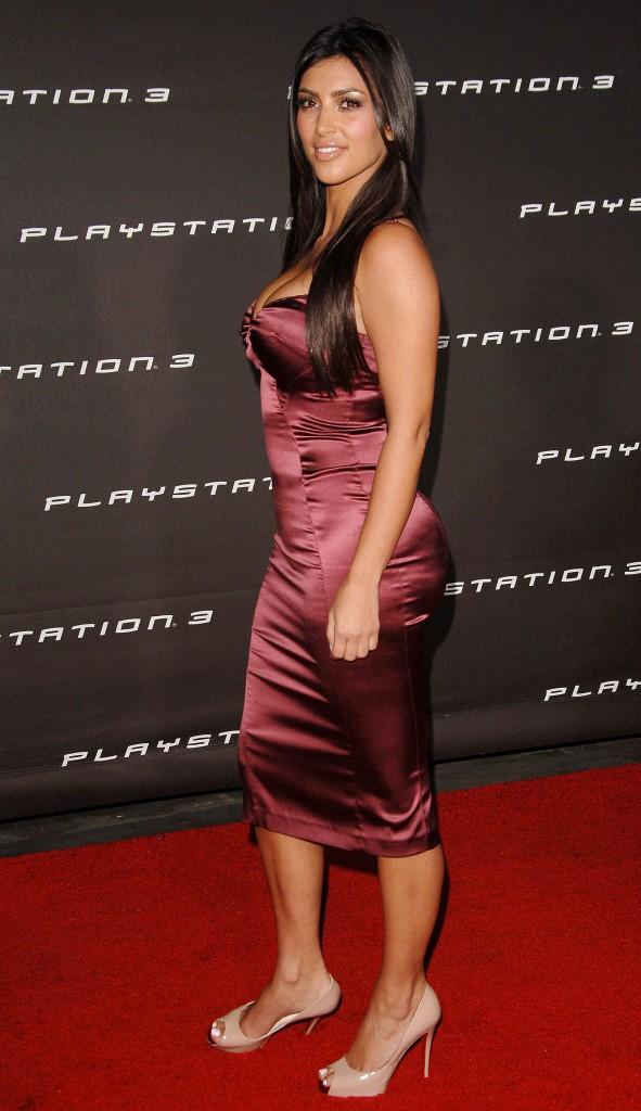 Kim Kardashian en novembre 2006.