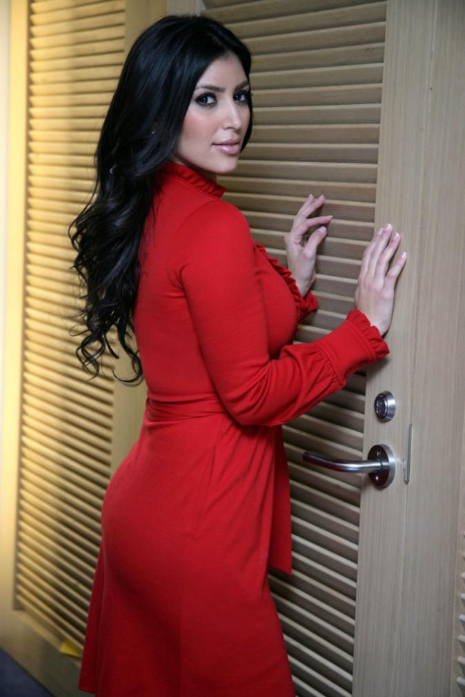 Kim Kardashian en novembre 2007.