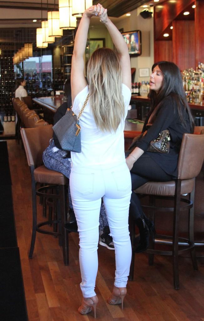 Kim Kardashian en octobre 2012.