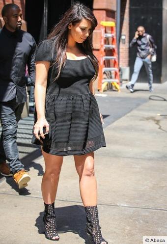 Kim Kardashian toujours au top dans la rue