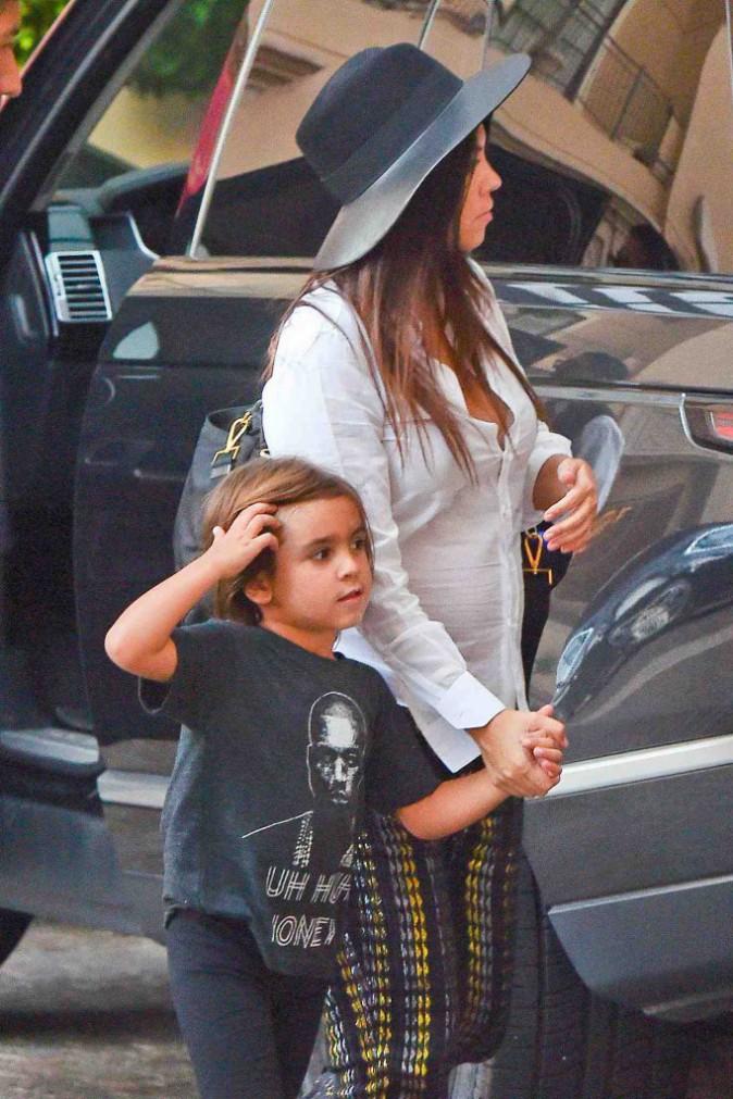 Kourtney Kardashian : une pause dodo s'impose avec son adorable Mason !