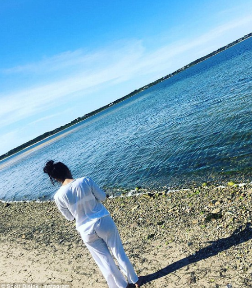 Scott Disick a posté une photo de Kourtney Kardashian sur Snapchat