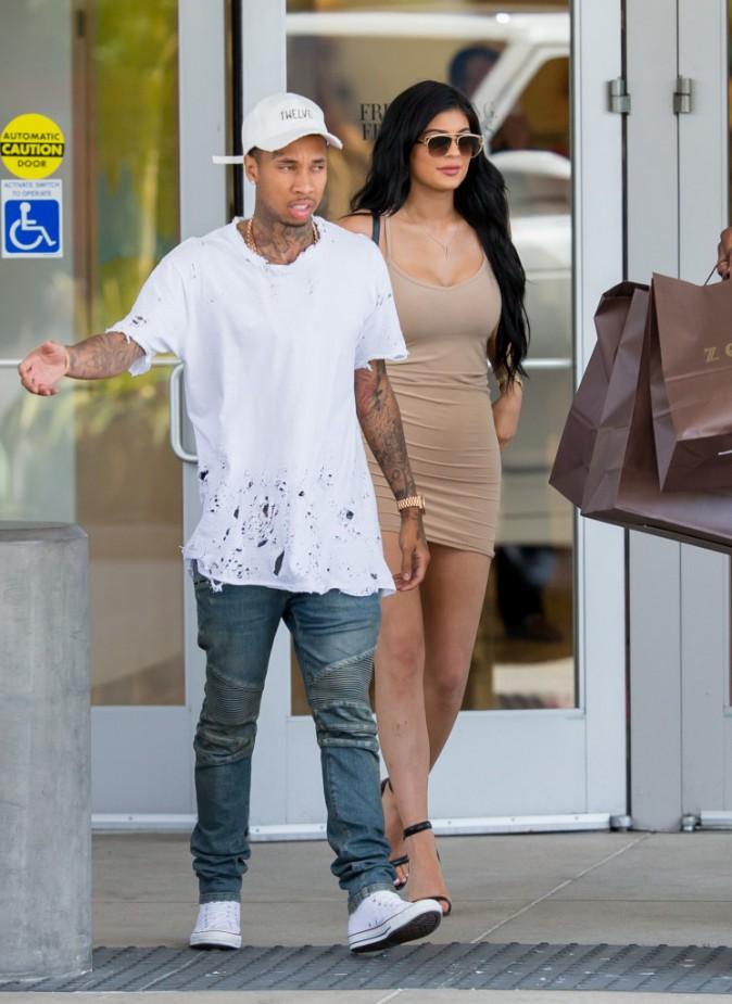 Kylie Jenner et Tyga le 30 juin 2015