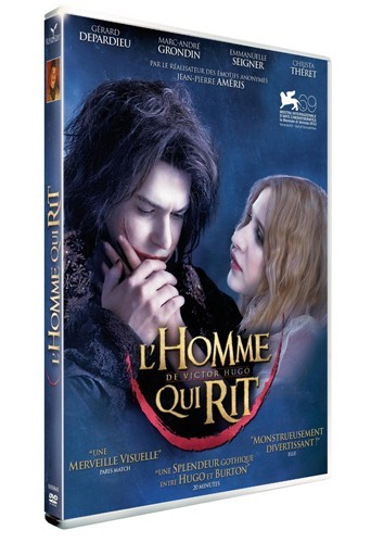 L'homme qui rit, DVD Europacorp. 19,99 €.