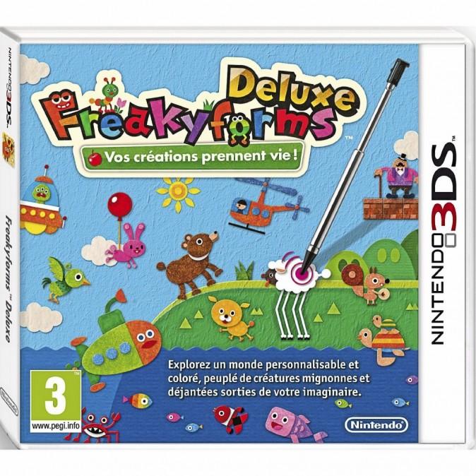 Deluxe Freakyforms sur Nintendo 3DS. 32 €.