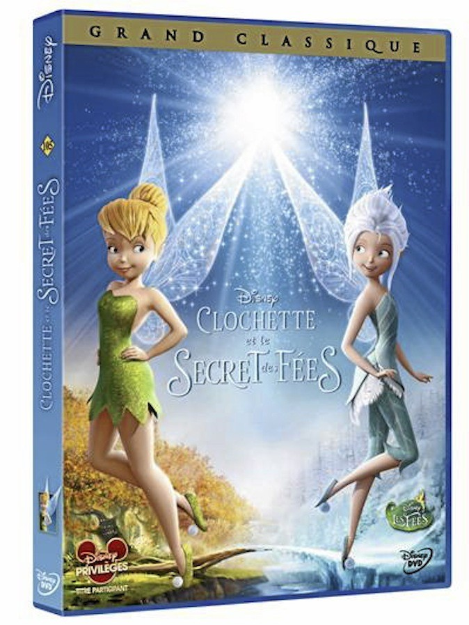 Clochette et le secret des fées, Disney. 19,99 €