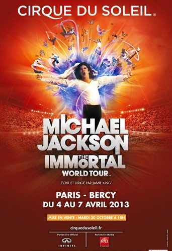 Michael Jackson The Immortal World Tour au Palais Omnisports de Bercy