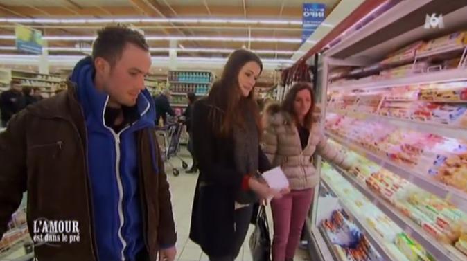 La séquence supermarché avec Jacky, Kim et Mélodye !