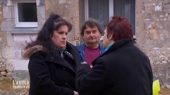 Michel avec Sandrine et Florence